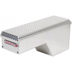170 0 01 Weather Guard Aluminum Pork Chop Box Truck Toolbox Driver Side