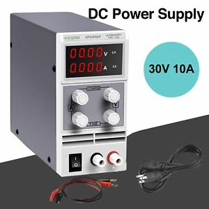 Wanptek Adjustable Dc Regulated Power Supply Variable 30v 10a Led Display Fw