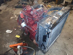 Kubota V3800 Turbo Diesel Engine Power Unit Core Chipper Pump Tractor 3 8