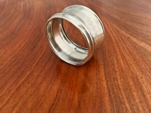 American Coin Silver Napkin Ring Circular With Decorative Band
