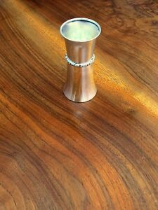 Lunt Sterling Silver Jigger Or Double Shot Measure Excellent Condition