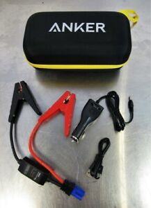 Anker Jumper Cables Car Charger A1501 Compact Car Jumpstarter Portable Charger