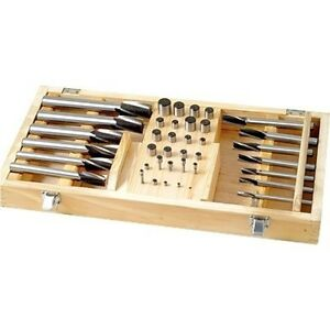 40 Pc Hss Counterbore Set 2007 0040 new Ds