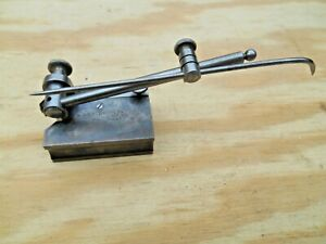 Vtg Starrett No 56 Surface Gage With 4 Spindle Pat March 17 1897