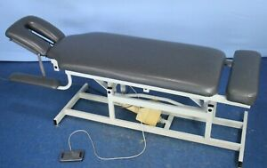 Chattanooga Triton Tre ch3 Treatment Table Chiropractic Table With Warranty
