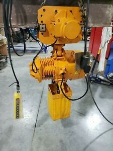 5 Ton Electric Chain Hoist Single Phase 220v With Power Trolly