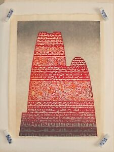 Antique 1966 Toshi Yoshida Past History 33 100 Ukiyo E Woodblock Print