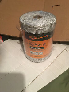 Gallgher Electric Fence Polywire 2m 1 16 in X 1312 Ft 400m