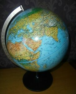 Vintage 1987 Danish Earth Globe By Scanglobe