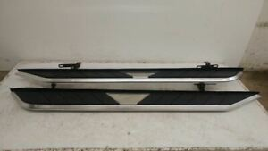 2011 2012 2013 2014 Jeep Grand Cherokee Overland Running Boards Steps Pair Used