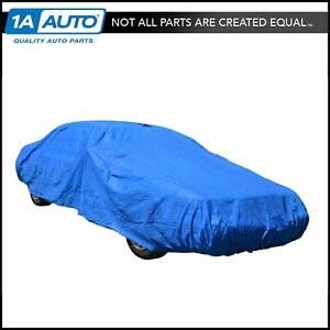 Single Layer Universal Car Cover Medium For Models Between 211 To 228 Inches New