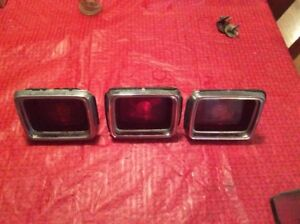 3 1964 Dodge 330 440 Polara Tail Lights Stdb 64d