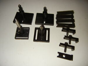 Optical Post Post Holder And Base Clamps Thorlabs Melles Griot Lot Of 12 Pcs