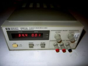 Hp Agilent E3611a Dc Power Supply 20 V 1 5a Or 35v 0 85a