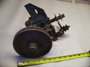 Gearbox Assembly For Self Propelled Weed Mower Yetter