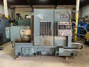 Mori Seiki Sl5 T Cnc Lathe With 40 Centers Tailstock Live Tooling Fanuc 11t