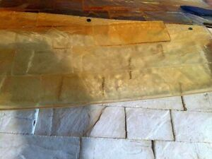 Concrete Texture Polyurethane Stamps Mat Tools Printing Cement Plaster Old Lock
