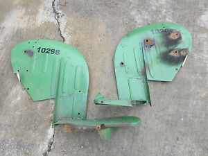 John Deere 40 420 430 320 330 U Utility Left Right Fender Fenders Set 4