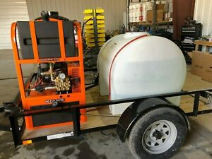 Easy kleen Grizzly Skid Hot Water Portable Pressure Washer System