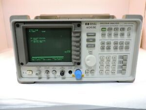 Agilent 8563e 9khz To 26 5ghz Spectrum Analyzer 90 Day Warranty
