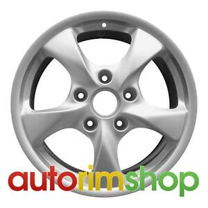 Porsche Boxster 17 Factory Oem Rear Wheel Rim 98636212606
