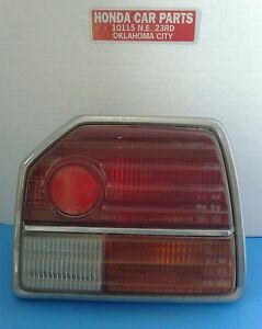Tail Light Assembly Honda Prelude Right 79 80