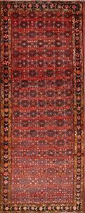 Traditional Floral 4x10 Zanjan Persian Oriental Hand Knotted Runner Rug Wool