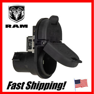 New Jeep Dodge Ram Mopar 0em Replacement 7 Pin 4 Pole Trailer Wiring Plug