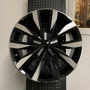 18 Gli Premium Style Black Wheels Rims Vw Rabbit Tiguan Q5 5x112 45mm Et