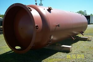 Large Vertical Compressed Air Tank Receiver 10 000 gallon Year Built 2011