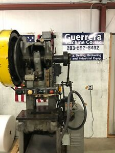 22 Ton 3 Minster Obi Power Punch Press