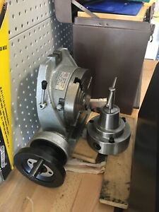 Combo Collet Chuck And 6 Rotary Table