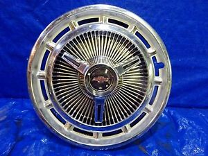 1965 1966 Chevy Impala 14 Spinner Hubcap Wheel Cover