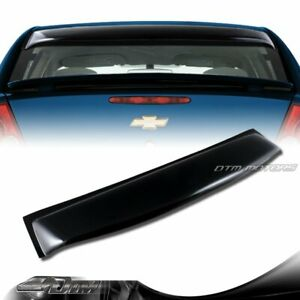 Black Acrylic Rear Window Roof Visor Spoiler For 2005 2010 Chevy Cobalt 4 dr