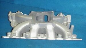 Rare 351c Holley Strip Dominator Aluminum Intake Manifold Ford Cleveland 351