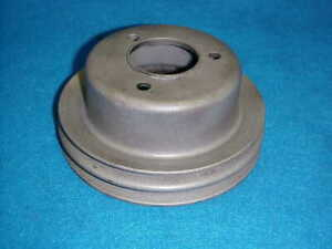 69 70 Chevelle Camaro Bbc 396 454 Crank Pulley Chevy Double Groove 3955290 Ad