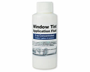 Window Tint Application Fluid Slip Solution For Installing Precut Window Tint
