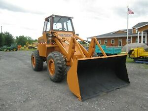 Case W20c Used Wheel Loader 4x4 Cab Diesel