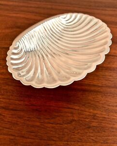 Tane Orfebres Hand Wrought Sterling Silver Shell Shaped Bowl No Monogram 158g