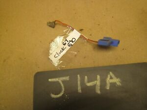 1966 1967 Tempest Lemans Gto 67 66 Borg Jeweled Clock Wire Wiring Pigtail Harnes