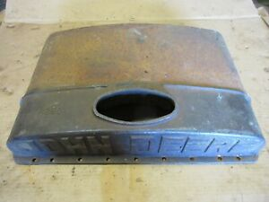 John Deere Us Unstyled D Early Radiator Top D53r Large Letters