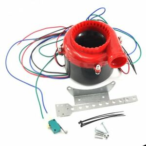 New Car Fake Dump Electronic Turbo Blow Off Hooter Valve Analog Sound Bov