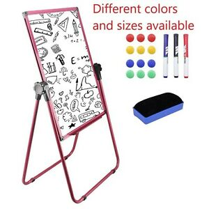 Magnetic Easel Dry Erase Board Portable U stand Whiteboard Height Adjusta New