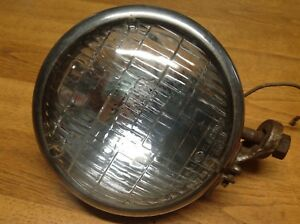 Vintage 12volt Driving Light Kd Model 866 Early Auto Truck Lamp Works Ge Beam