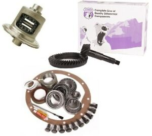 Jeep Wrangler Yj Tj Xj Dana 35 3 55 Ring And Pinion Traclok Posi Yukon Gear Pkg