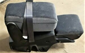 06 16 Chevrolet Impala Center Console Jump Seat Grey Cloth Oem