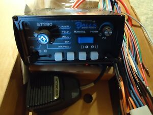 New Galls Street Thunder St280 Siren Amplifier With Light Controls