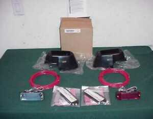 Whelen Mirror Beam 500 Lin Strobe Ford Crown Victoria Police P71 Clear red Kit