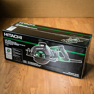 new Hitachi 7 1 4 Worm Drive Circular Saw C7wdm