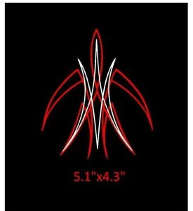 Custom Pinstriping Decal Hot Rod